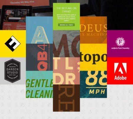 Adobe Typekit Font Libraries