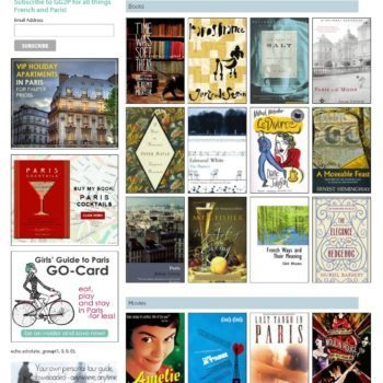 Books and Movies Girls Guide To Paris Site