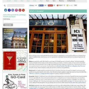 Girls Guide To Paris Blog Post
