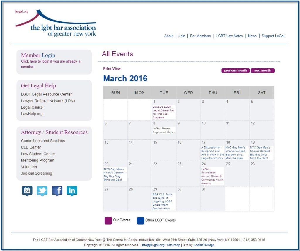 Calendar-border