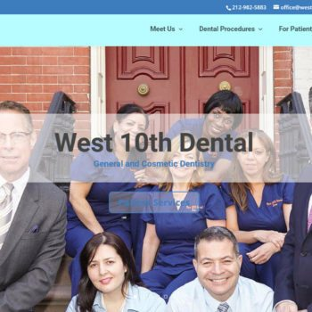 Dental Practice Home Page