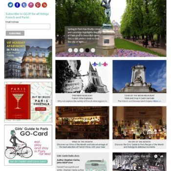 Home Page Travel Site Girls Guide To Paris