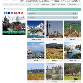 Girls Guide To Paris Partner Program Page