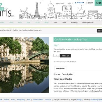 Girls Guide To Paris Product Page