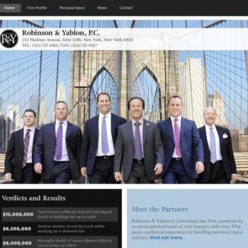 Robinson Yablon Home Page