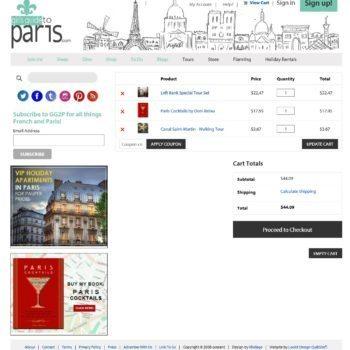 Girls Guide To Paris Shopping Cart Checkout