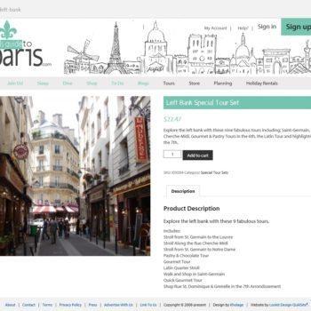 Girls Guide To Paris Shopping Cart Tour