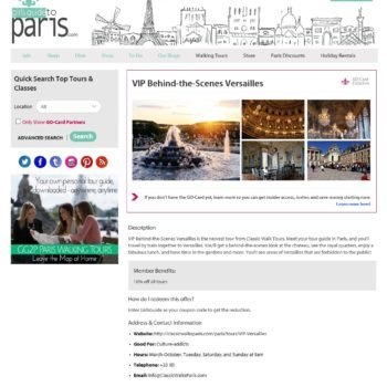Girls Guide To Paris Tour Detail