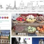 Travel website Home Page
