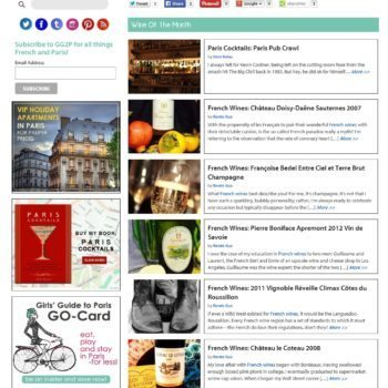 Girls Guide To Paris Wine of the Month