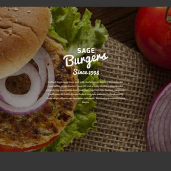 Burger Restaurant Website