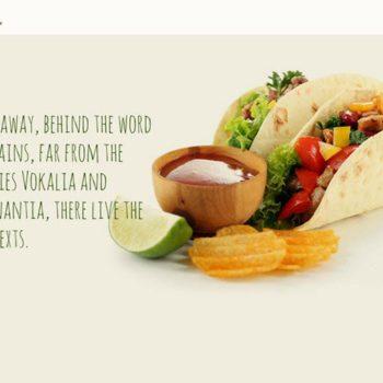 Mexican Restaurant Website Design
