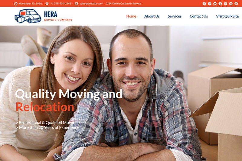 Moving Service Website