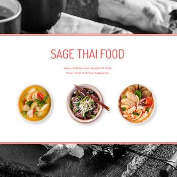 Thai Restaurant Website