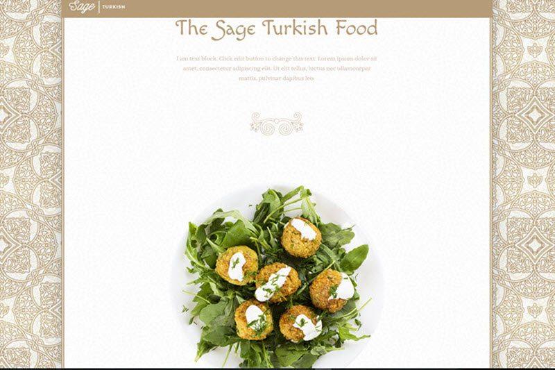 Turkish Restaurant Website