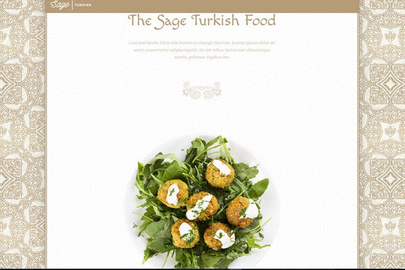 Turkish Restaurant Website