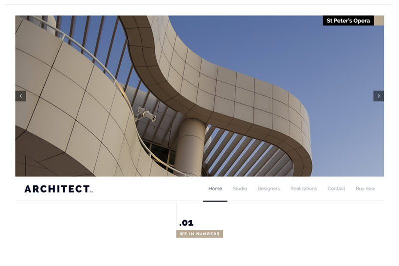 Architect Firm Website