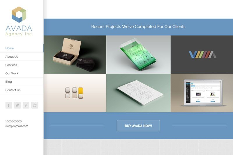 Agency Firm Website