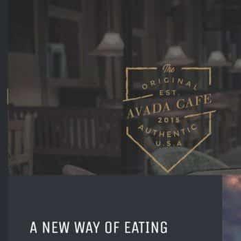 Cafe Restaurant Website