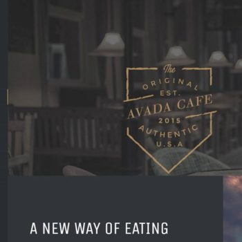 Cafe Restaurant Website