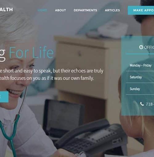 Healthcare Practice Website