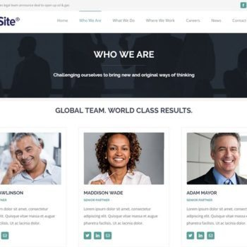 Large Law Firm Website